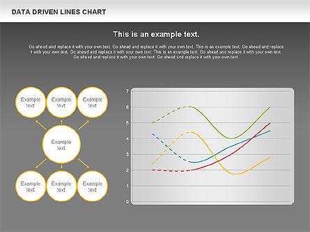 Data Driven Line Diagram, Slide 12, 00996, Business Models — PoweredTemplate.com