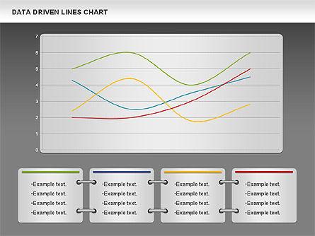Data Driven Line Diagram, Slide 13, 00996, Business Models — PoweredTemplate.com