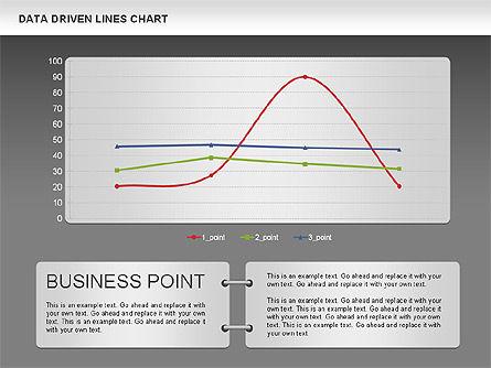Data Driven Line Diagram, Slide 15, 00996, Business Models — PoweredTemplate.com
