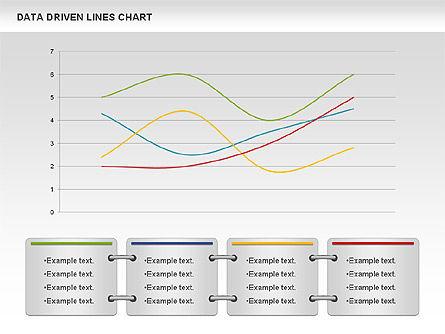 Data Driven Line Diagram, Slide 2, 00996, Business Models — PoweredTemplate.com