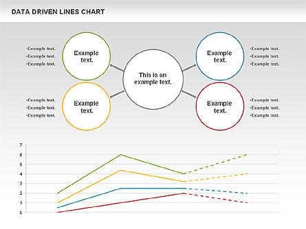 Data Driven Line Diagram, Slide 3, 00996, Business Models — PoweredTemplate.com