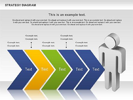 Strategy Process Diagram, Slide 10, 00998, Process Diagrams — PoweredTemplate.com