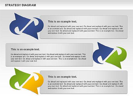 Strategy Process Diagram, Slide 11, 00998, Process Diagrams — PoweredTemplate.com