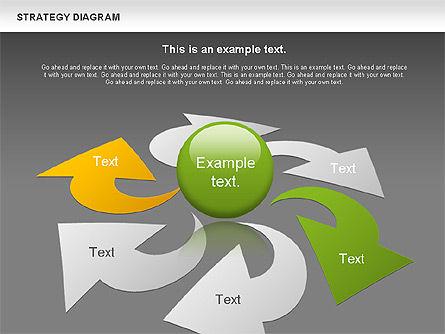 Strategy Process Diagram, Slide 15, 00998, Process Diagrams — PoweredTemplate.com