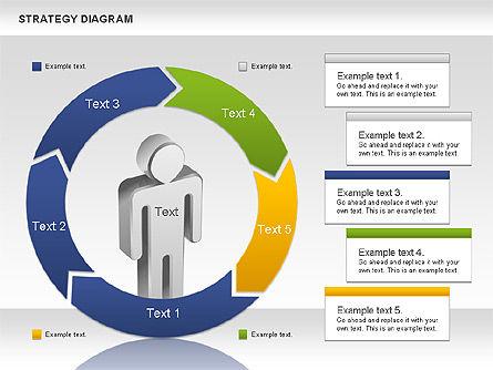 Strategy Process Diagram, Slide 2, 00998, Process Diagrams — PoweredTemplate.com