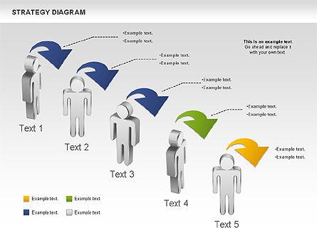 Strategy Process Diagram, Slide 3, 00998, Process Diagrams — PoweredTemplate.com