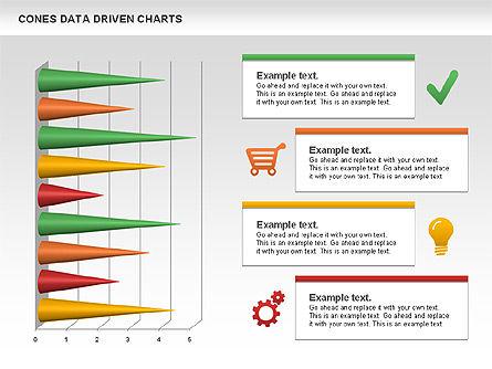Cones Data Driven Chart, Slide 10, 00999, Business Models — PoweredTemplate.com