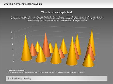 Cones Data Driven Chart, Slide 15, 00999, Business Models — PoweredTemplate.com