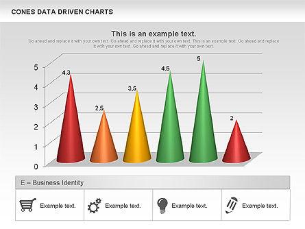 Cones Data Driven Chart, Slide 3, 00999, Business Models — PoweredTemplate.com