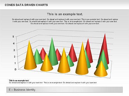 Cones Data Driven Chart, Slide 6, 00999, Business Models — PoweredTemplate.com