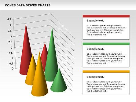 Cones Data Driven Chart, Slide 8, 00999, Business Models — PoweredTemplate.com