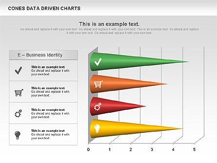 Cones Data Driven Chart, Slide 9, 00999, Business Models — PoweredTemplate.com