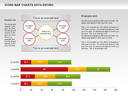 Bar Chart with Icons (Data Driven), Slide 2, 01000, Business Models — PoweredTemplate.com
