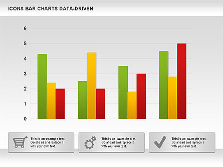 Bar Chart with Icons (Data Driven), Slide 3, 01000, Business Models — PoweredTemplate.com