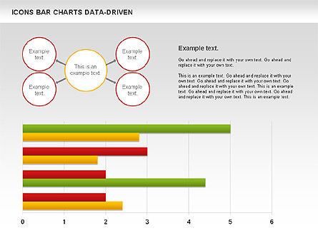 Bar Chart with Icons (Data Driven), Slide 4, 01000, Business Models — PoweredTemplate.com