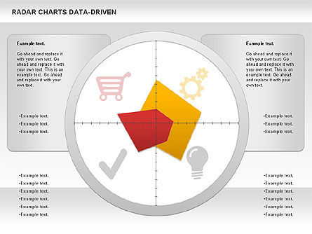 Business Models: Radardiagramm (datengesteuert) #01003