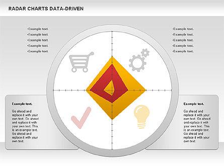Radar Chart (Data Driven), Slide 2, 01003, Business Models — PoweredTemplate.com