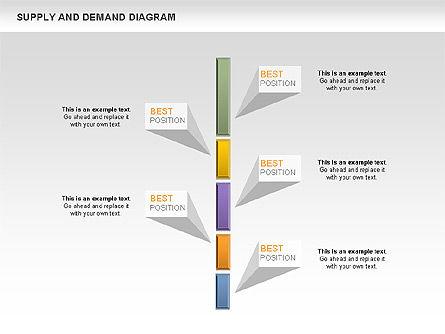 Supply and Demand Diagram, Slide 9, 01004, Business Models — PoweredTemplate.com