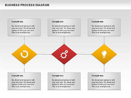 Business Process Diagram, Slide 10, 01011, Process Diagrams — PoweredTemplate.com