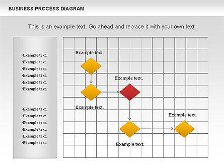 Business Process Diagram, Slide 11, 01011, Process Diagrams — PoweredTemplate.com