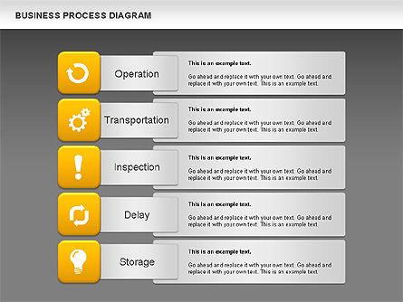 Business Process Diagram, Slide 12, 01011, Process Diagrams — PoweredTemplate.com