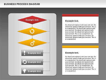 Business Process Diagram, Slide 13, 01011, Process Diagrams — PoweredTemplate.com