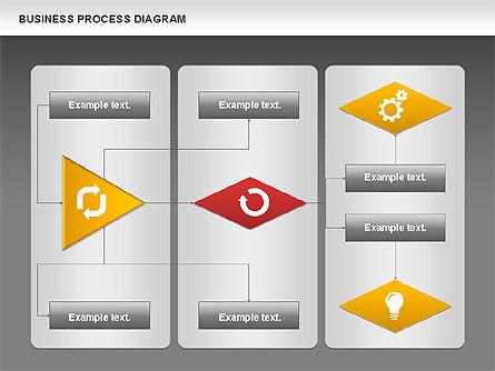 Business Process Diagram, Slide 15, 01011, Process Diagrams — PoweredTemplate.com