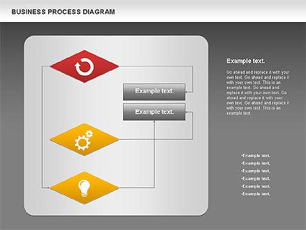 Business Process Diagram, Slide 16, 01011, Process Diagrams — PoweredTemplate.com