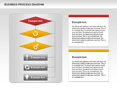 Business Process Diagram, Slide 2, 01011, Process Diagrams — PoweredTemplate.com