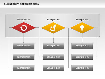 Business Process Diagram, Slide 7, 01011, Process Diagrams — PoweredTemplate.com