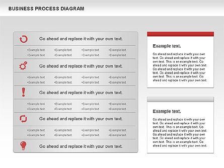 Business Process Diagram, Slide 8, 01011, Process Diagrams — PoweredTemplate.com
