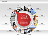 Timeline with Photos Diagram#11