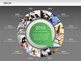 Timeline with Photos Diagram#16