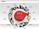 Timeline with Photos Diagram#3