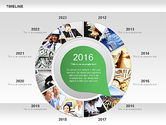 Timeline with Photos Diagram#5