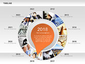 Timeline with Photos Diagram#7