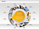 Timeline with Photos Diagram#9