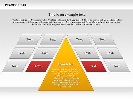 Peacock Tail Diagram, Slide 10, 01014, Business Models — PoweredTemplate.com