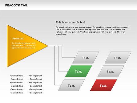 Peacock Tail Diagram, Slide 11, 01014, Business Models — PoweredTemplate.com