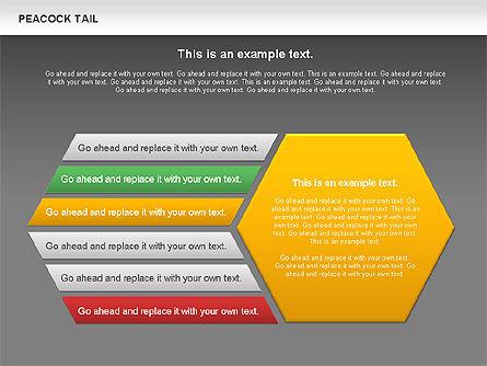 Peacock Tail Diagram, Slide 12, 01014, Business Models — PoweredTemplate.com