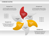 Shapes: Combined Shapes Diagrams Collection #01015