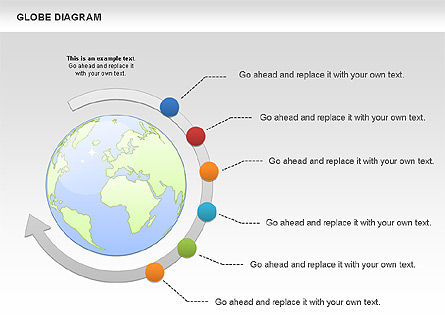 Business Models: Globe Diagram #01016
