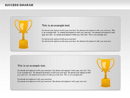 Success Diagram, Slide 11, 01023, Shapes — PoweredTemplate.com