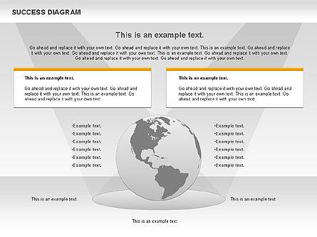 Success Diagram, Slide 7, 01023, Shapes — PoweredTemplate.com