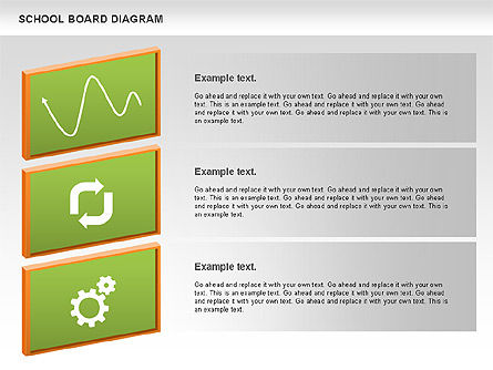 School Board Diagram, Slide 2, 01024, Education Charts and Diagrams — PoweredTemplate.com