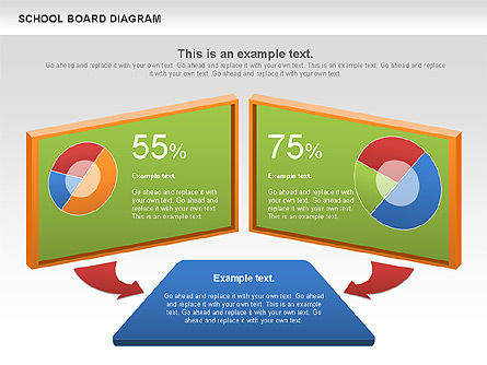 School Board Diagram, Slide 3, 01024, Education Charts and Diagrams — PoweredTemplate.com