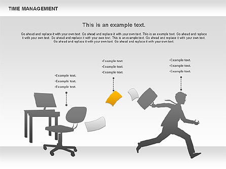 Business Models: Work-time Management Diagram #01026
