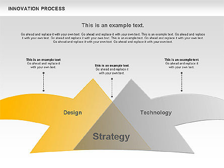 Innovation Process with Lamp Diagram, Slide 7, 01027, Process Diagrams — PoweredTemplate.com