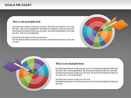 Goals Pie Chart, Slide 15, 01029, Pie Charts — PoweredTemplate.com