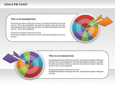 Goals Pie Chart, Slide 4, 01029, Pie Charts — PoweredTemplate.com